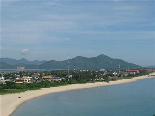 Lang Co Beach, near Da Nang