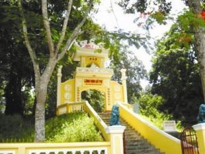 Four-handed Buddha pagoda