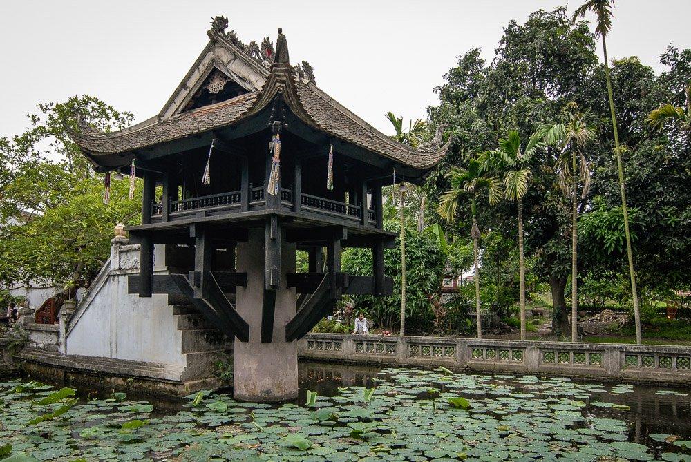 One-Pillar Pagoda (Chùa Một Cột)