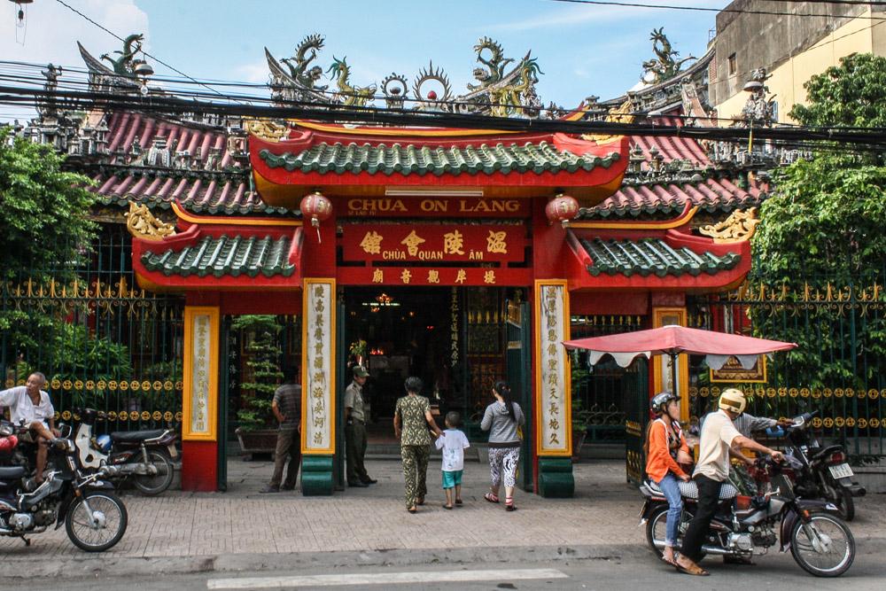 Pagodas in Ho Chi Minh City